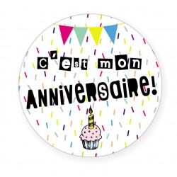 Badge Anniversaire BB&Co