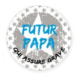 Badge Futur Papa BB&Co