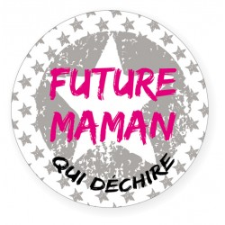 Badge Future Maman BB&Co