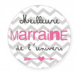 Badge Marraine BB&Co