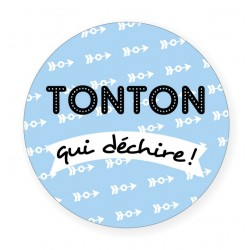 Badge Tonton BB&Co