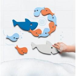 Puzzle de bain Requins de...