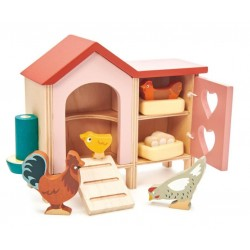 Hühnerstall für Puppenhaus...