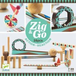 ZIG & GO - 28 pcs Djeco