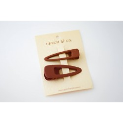 Set de 2 barrettes Rust...