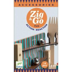 ZIG & GO Fork- 14 pcs Djeco