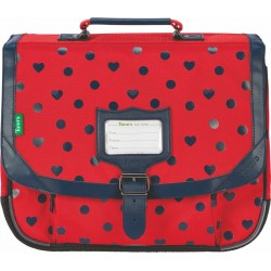 Cartable 35 Alice rouge Tann's