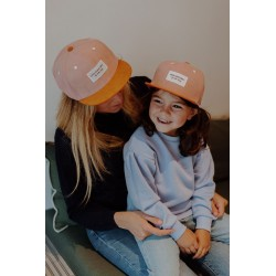 Casquette Old Pink Daim...