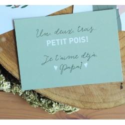 """Carte """"1, 2, 3...petits..."""