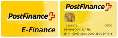 Paiement sécurisé avec PostFinance Card/E-Finance